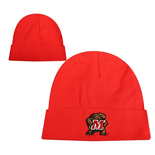 844bfd506d893f Top of the World Maryland Terrapins Official NCAA Infant Knit Tow Lil Cuff  Beanie 116055