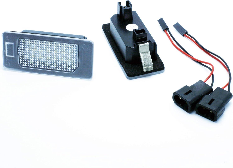 VINSTAR 2X Luces DE MATRICULA LED REEMPLAZO M3 M5 E39 E60 E61 E82 E88 E90 E91 E92 E93 F10 F11 F18 F30 F31 F32 F34 F35 F80 F82 CANBUS