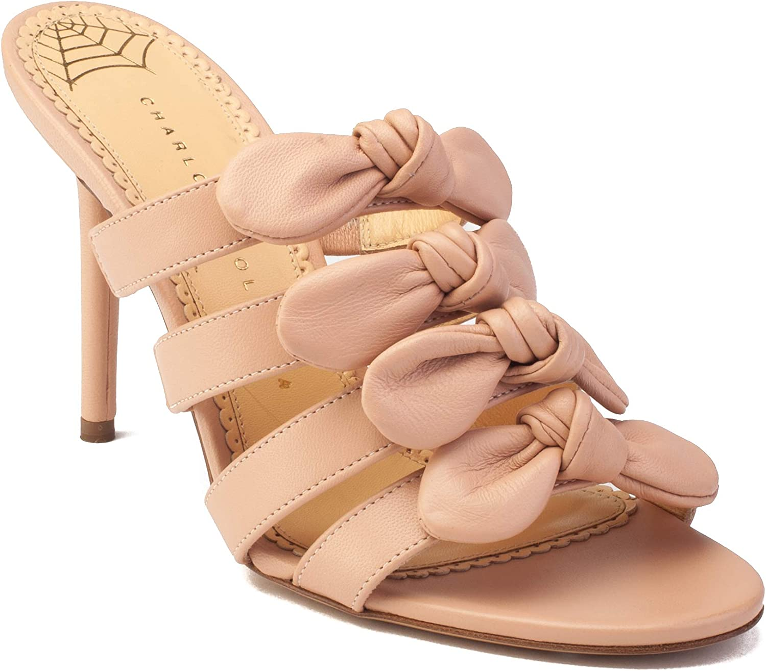 Charlotte Olympia Women's 'Blyton' Leather Heels Pink shoes