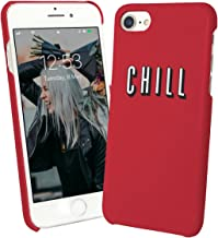 Chill and Tv Series Eat Food Junk Happy Zen Afternoon_001004 Protective Case Cover Hard Plastic iPhone Xs (2018) Funny Gift Christmas for Him for Her