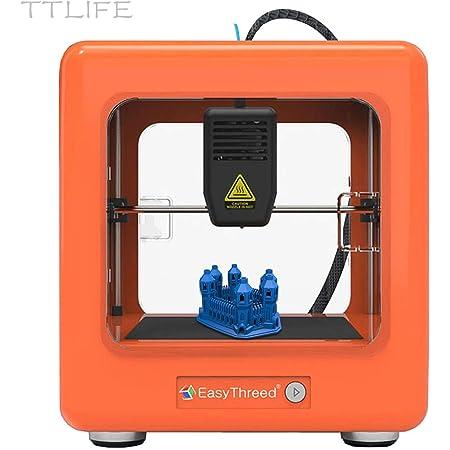 SEAAN Mini Stampante 3D Stampante 3D in Miniatura Portatile Completamente Assemblata Stampa con un Clic 12V 3D Printer Adatto ai Principianti Nella Creazione di Regali fai da te Certificazione CE