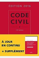 Code civil 2016 - 115e éd. Broché