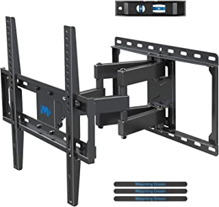 Mounting Dream TV Wall Bracket Mount Swivel and Tilt for Most of 26-55 Inch LED, LCD, OLED and Plasma Flat Screen TVs up t...