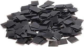 Neitsi 100pcs Italian Glue Keratin Bonding Glue Fusion Flat Tip For Hair Extension (Black)