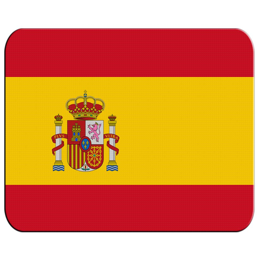 ALFOMBRILLA PEQUEÑA BANDERA ESPAÑA PAIS UNIDO mousepad raton: Amazon.es: Oficina y papelería
