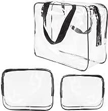 Best clear vinyl toiletry bag Reviews