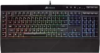 Corsair Gaming K55 RGB 键盘,背光 RGB LEDCH-9206015-NA 键盘
