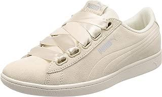 Puma Kadın Vikky Ribbon S Moda Ayakkabı, Beyaz, 38.5 Numara