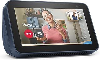 """Novo Echo Show 5 (2ª Geração, versão 2021): Smart Display de 5"""" com Alexa e câmera de 2 MP - Cor Azul"""