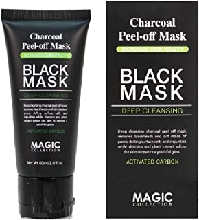 Black Mask Charcoal Peel Off Blackhead Remover Black Mud Mask Face Skin Nose Cleaner Oil Control Purifying Deep Cleansing Mask