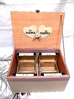 Caja Personalizada Boda, Caja Madera, Caja Boda, Caja Recuerdos Boda, Caja Vintage Transformado
