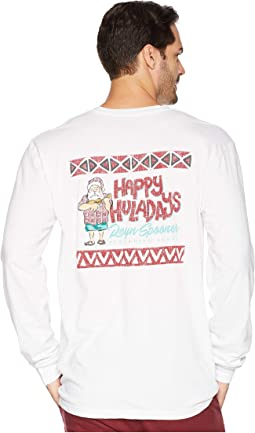 Ukulele Santa Long Sleeve T-Shirt