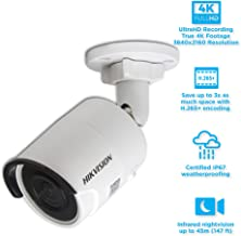 Hikvision DS-2CD2083G0-I 8.0MP 4K UltraHD Exir Bullet Camera IR, 4.0mm, IP67 Weatherproof