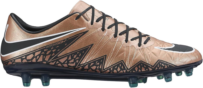 Nike Mens Hypervenom Phinsh FG Soccer Synthetic Cleats