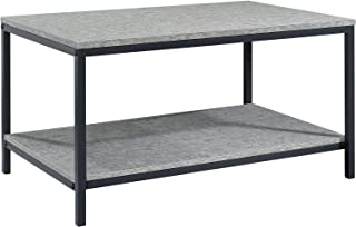 Sauder 424946 North Avenue Coffee Table, Faux Concrete Finish