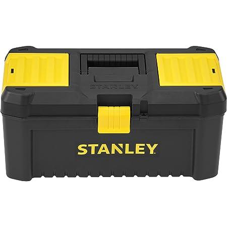 """STANLEY STST1-75517 Cassetta Porta Utensili, Nero/Giallo, 16"""""""
