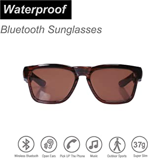 OhO sunshine Water Resistant Audio Sunglasses,Fashionable Bluetooth Sunglasses to Listen Music and Make Phone Calls