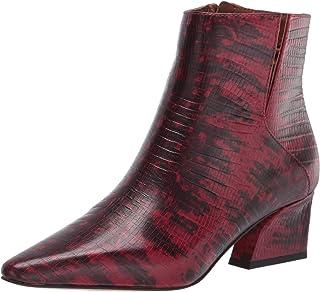 Franco Sarto Women's Sandria Ankle Boot, Wine, 9.5