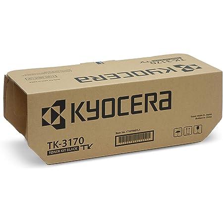 Kyocera Tk 3170 Schwarz Inkl Resttonerbehälter Original Toner Kartusche 1t02t80nl1 Kompatibel Für Ecosys P3150dn Ecosys P3155dn Ecosys M3860idn Ecosys M3860idnf Bürobedarf Schreibwaren