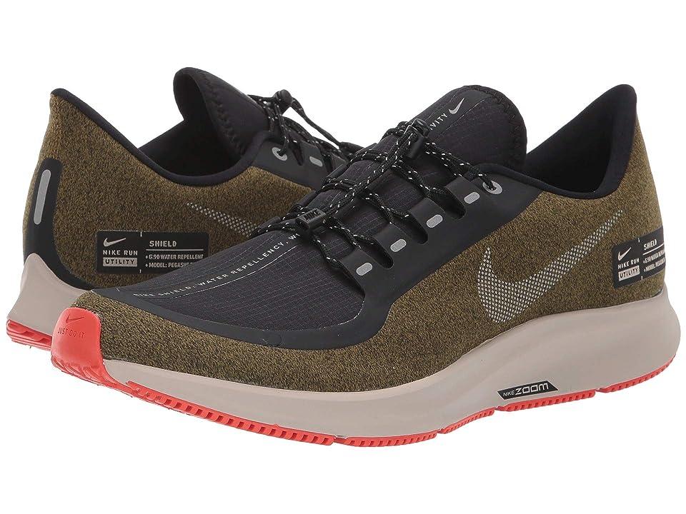 Nike Air Zoom Pegasus 35 Shield (Olive Flak/Metallic Silver/Black/String) Men