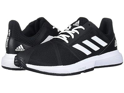adidas CourtJam Bounce (Core Black/Footwear White/Matte Silver) Men
