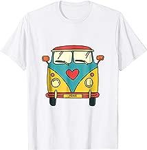 Vintage Hippie Bus - Cute Van T-Shirt