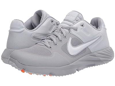 Nike Alpha Huarache Elite 2 Turf (Pure Platinum/White/Wolf Grey) Women