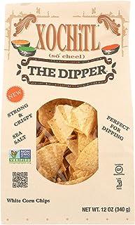 Xochitl White Corn Chips, Dipper, 12 oz (10 Bags)10