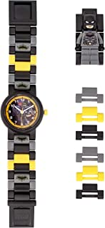 Boys' LEGO Batman Analog Quartz Watch with Plastic Strap, Black, 20 (Model: 8021568)