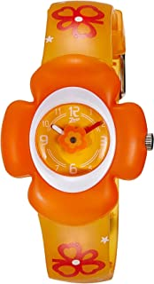 Zoop Analog Orange Dial Children's Watch -NKC4008PP02