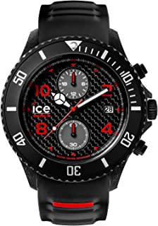 ICE WATCH CACHBKBBS15 Round Chronograph Watch - Black