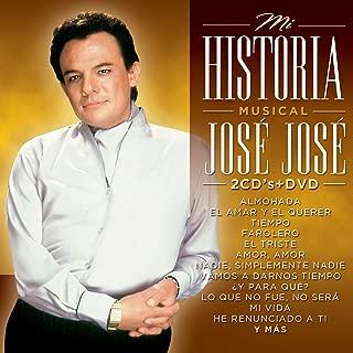 JOSE JOSE [MI HISTORIA MUSICAL] 2 CD'S + 1 DVD.
