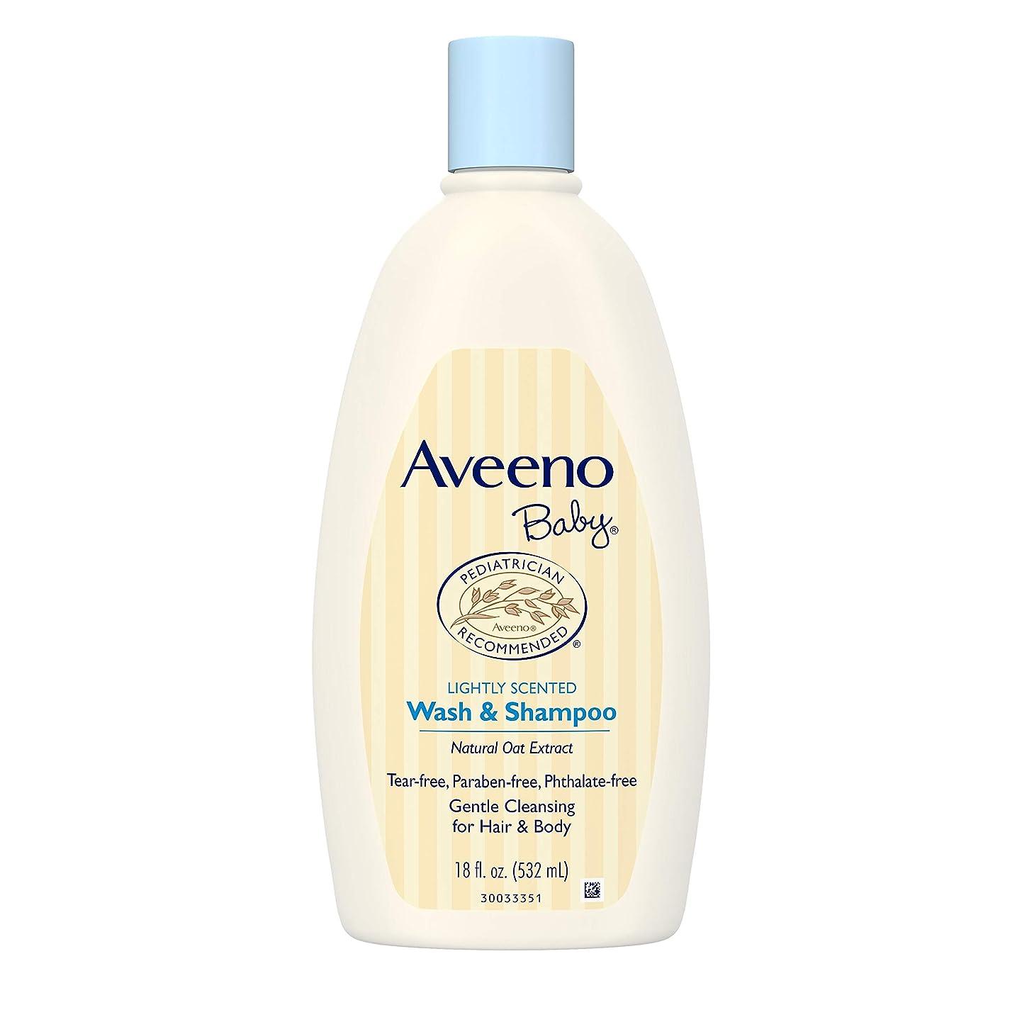 効果的農村入手しますAveeno Baby Wash & Shampoo 18 oz.