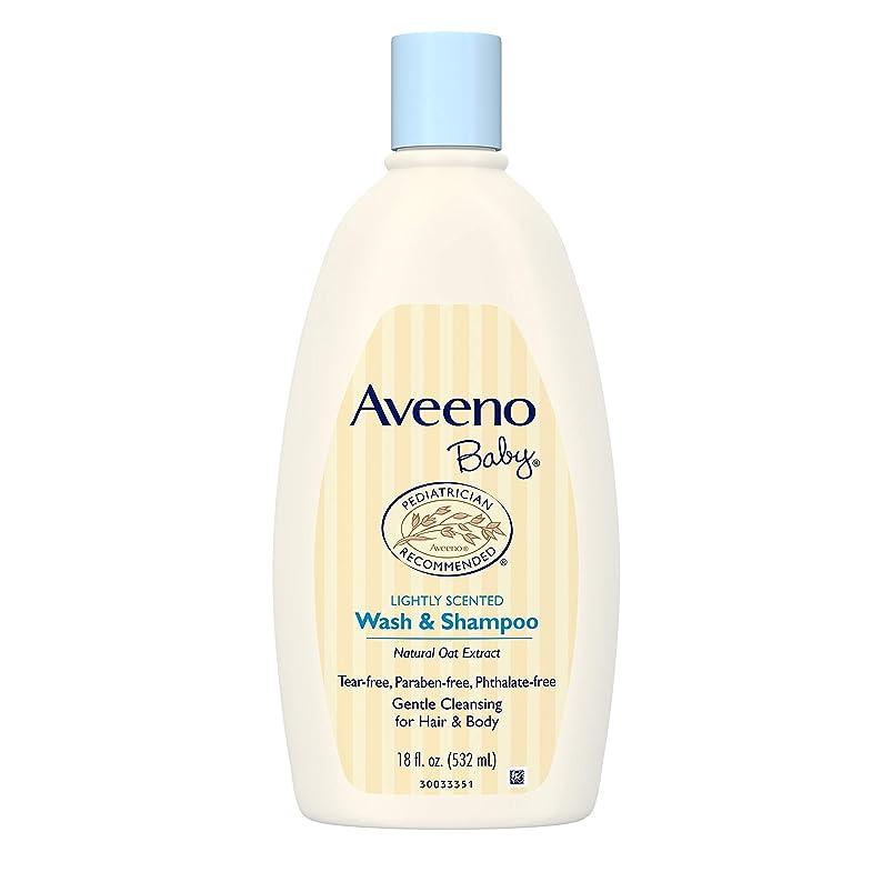起きるフェッチ弾力性のあるAveeno Baby Wash & Shampoo 18 oz.