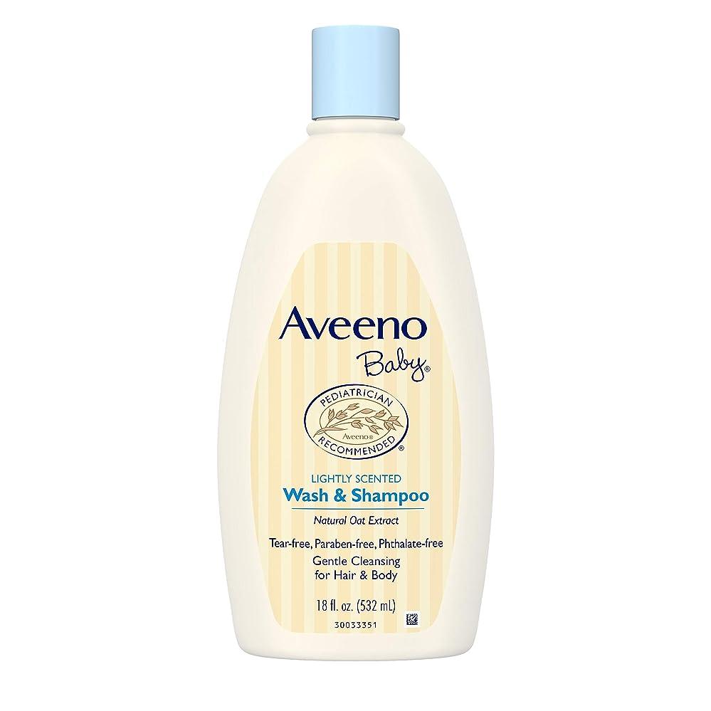 グラディス電気陽性ハックAveeno Baby Wash & Shampoo 18 oz.