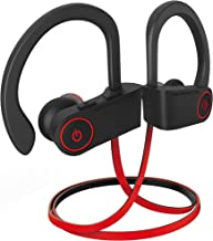 noot products NP11 Bluetooth Headphones IPX7 Waterproof Sports Wireless Earphones with CVC6.0 Noise Cancelling Mic,Volume/Remote Control Bluetooth 4.1 Earbuds 8 Hours Play Time for Running Workout