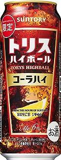 サントリー トリスハイボール コーラハイ 500ml×24本 【アウトレット/賞味期限2019年12月】