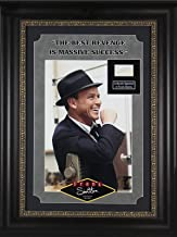 Frank Sinatra The Rat Pack Signed 1.5x2.75 Cut Signature BAS #A72823 - Beckett Authentication