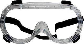 RK ایمنی RK-GG101 سنگین محافظ شیمیایی چسب ایمنی شیشه ای، عینک | طراحی کریستال روشن، ضد مه، مقاومت در برابر ضربه. | حفاظت کامل چشم برای هر پروژه