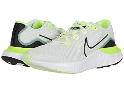 Nike Kids Renew Run (Big Kid) (Spruce Aura/Black/Sail/Volt) Kids Shoes