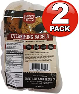 Great Low Carb Everything Bagels 2 Bags