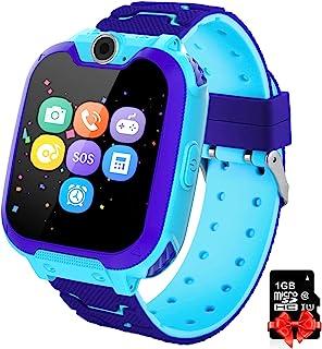 PTHTECHUS Orologio Intelligente Bambini con 7 Giochi - Musica MP3 Smartwatch Studente, Orologio Intelligente Bambini con T...