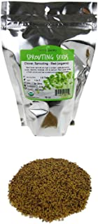 Organic Red Clover Sprouting Seeds - 1 Lb Resealable Bag - Handy Pantry Brand - Sprouts, Microgreens, Gardening, Food Storage & More.
