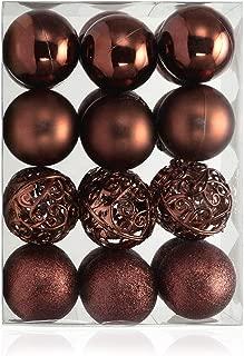 brown glass christmas ornaments