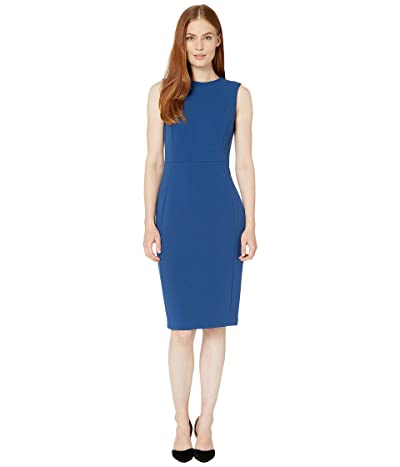 Calvin Klein Sleeveless Sheath Dress (Dark Mallard) Women