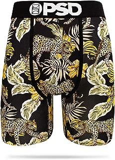 Men's Underwear- Athletic Boxer Brief- Leopard Floral