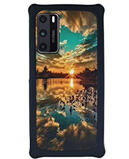 HUAYIJIE Case For Hisense C30 Rock Phone Case Hard Backplane + Soft Silicone Frame Cover PCFJ