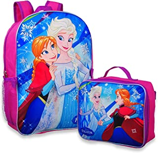 elsa backpack and lunchbox