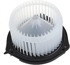 HVAC plastic Heater Blower Motor w/Fan ABS Cage ECCPP for 2005-2009 Buick LaCrosse /2004-2016 Chevrolet Impala /2004-2007 Chevrolet Monte Carlo /2002-2003 Oldsmobile Aurora