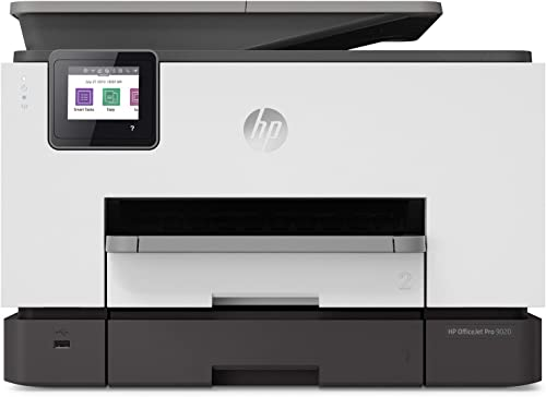 HP OfficeJet Pro 9020 All-in-One Wireless Printer, with Smart Tasks & Advanced Scan Solutions for Smart Office Produc...